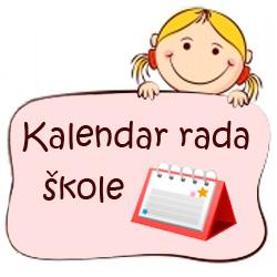 Kalendar rada škole